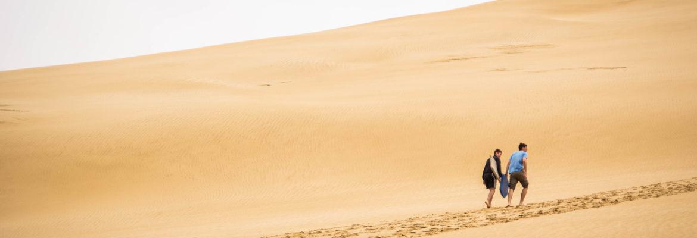 Sand surfen